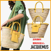 JACQUEMUS Casual Style Elegant Style Totes