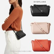 Everlane Casual Style Street Style Plain Leather Shoulder Bags