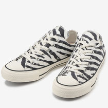 CONVERSE ALL STAR Zebra Patterns Casual Style Unisex Street Style
