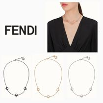 FENDI Chain Elegant Style Necklaces & Pendants
