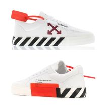 Off-White Casual Style Plain Low-Top Sneakers