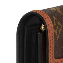 Louis Vuitton MONOGRAM Dauphine Compact Wallet