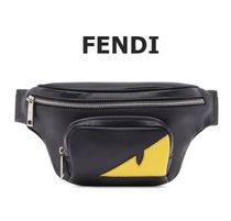FENDI BAG BUGS Unisex 2WAY Messenger & Shoulder Bags