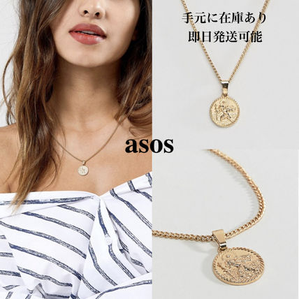 Casual Style Coin Necklaces & Pendants