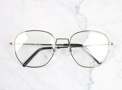 Unisex Square Oversized Eyeglasses