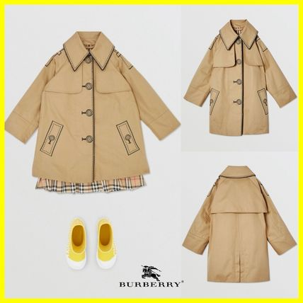 Burberry More Kids Girl Outerwear