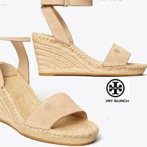 Tory Burch Open Toe Plain Leather Party Style Office Style