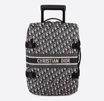 Christian Dior DIOR OBLIQUE Unisex Blended Fabrics Handmade 1-3 Days Soft Type Carry-on