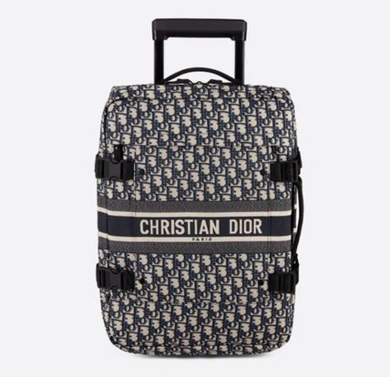 Christian Dior DIOR OBLIQUE Mini Diortravel Trolley