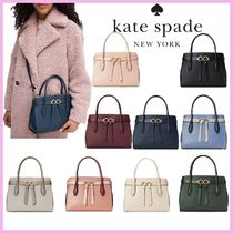 kate spade new york toujours Casual Style 2WAY Plain Leather Party Style Elegant Style