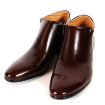 mooda Plain Leather Boots