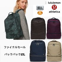 lululemon Casual Style Nylon Plain Backpacks