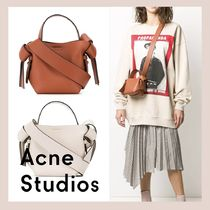 Acne Lambskin Leather Shoulder Bags