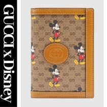 GUCCI Unisex Collaboration Leather Wallets & Small Goods