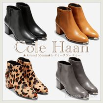 Cole Haan Plain Toe Casual Style Plain Other Animal Patterns Leather