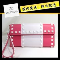 VALENTINO Studded Long Wallets