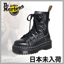 Dr Martens JADON Open Toe Round Toe Lace-up Casual Style Unisex Street Style