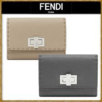 FENDI Unisex Folding Wallets