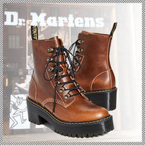 Dr Martens LEONORE Open Toe Rubber Sole Lace-up Casual Style Unisex