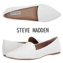 Steve Madden Casual Style Faux Fur Plain Other Animal Patterns