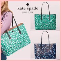 kate spade new york Flower Patterns A4 Totes