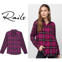Rails Other Check Patterns Long Sleeves Medium Shirts & Blouses