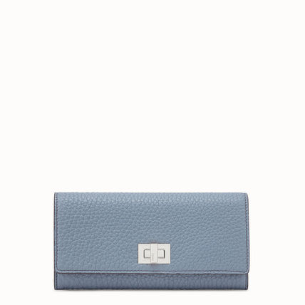 FENDI SELLERIA Calfskin Long Wallets