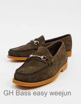 GH Bass&Co Loafers Suede Plain Loafers & Slip-ons