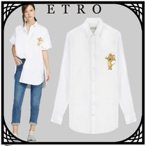 ETRO Casual Style Collaboration Long Sleeves Cotton Long