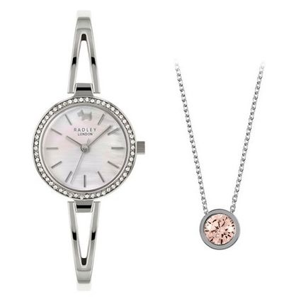 Casual Style Round Party Style Jewelry Watches Stainless