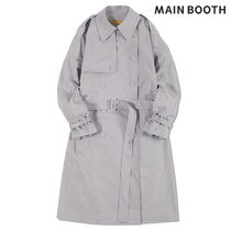 MAINBOOTH Trench Coats