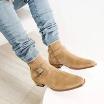 ORO LOS ANGELES More Boots Suede Street Style Plain Leather Boots 4