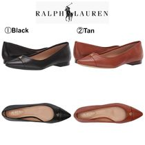 Ralph Lauren Casual Style Plain Leather Office Style Pumps & Mules
