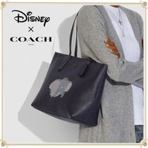 Disney Collaboration A4 Plain Other Animal Patterns Leather