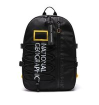 NATIONAL GEOGRAPHIC Casual Style Unisex Street Style A4 Plain Logo Backpacks