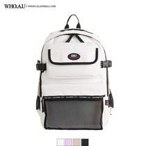 WHO.A.U Casual Style Unisex Street Style Bag in Bag A4 Plain