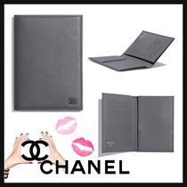 CHANEL Unisex Street Style Plain Leather Home Party Ideas