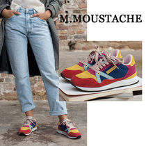 M. MOUSTACHE Casual Style Street Style Low-Top Sneakers