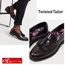NOOSE & MONKEY Loafers Street Style Plain Leather Loafers & Slip-ons