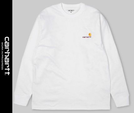 Carhartt Long Sleeve Street Style Long Sleeves Long Sleeve T-shirt Logo