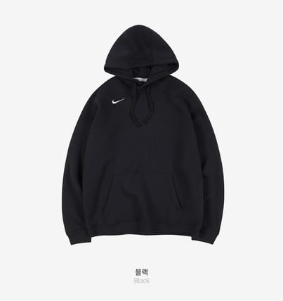 Nike Hoodies Unisex Street Style Long Sleeves Plain Logo Hoodies 2