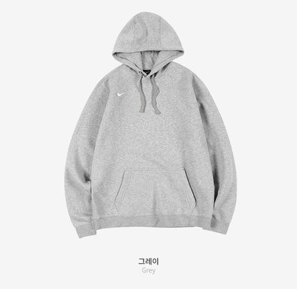 Nike Hoodies Unisex Street Style Long Sleeves Plain Logo Hoodies 4