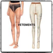 VETEMENTS Casual Style Street Style Elegant Style Bottoms