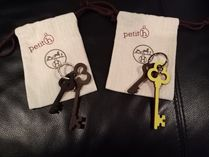 HERMES petit h HERMES Keychains & Bag Charms
