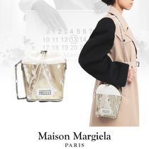 Maison Margiela Casual Style Lambskin 2WAY Bi-color Chain Leather