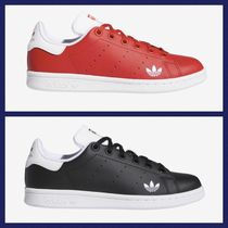 adidas STAN SMITH Casual Style Unisex Street Style Plain Logo Low-Top Sneakers