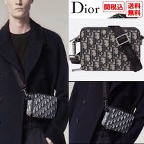 Christian Dior Monogram Unisex Street Style 2WAY Small Shoulder Bag Logo