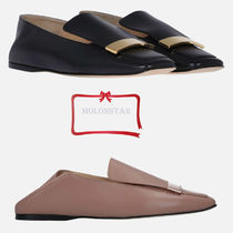 Sergio Rossi Plain Slippers Shoes