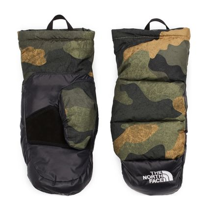 THE NORTH FACE Camouflage Gloves Gloves