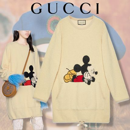GUCCI 2020 SS 【GUCCI】 Disney x Gucci cotton dress (606143 XKA5G 9200)